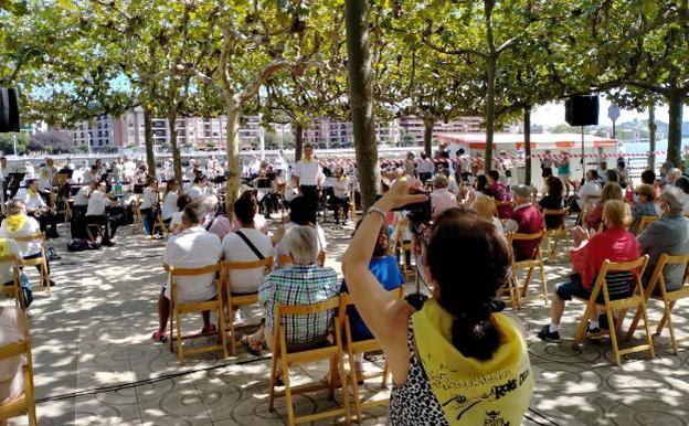 Portugalete sigue cumpliendo con la promesa de sacar la cultura a la calle